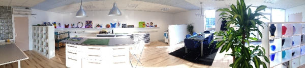 panoramafoto-showroom-glasfragmenten